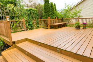 Beautiful residential deck - Home Deck Builders in Palm Coast